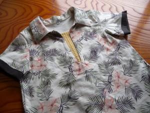 薫風スキッパー フラミンゴ